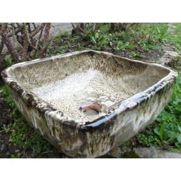 LA COMTESSE DE SEGUR vasque carrée en Grès