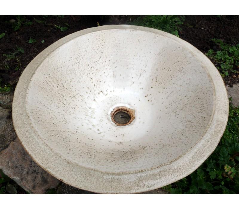 vasque en gres LA POMPADOUR vasque en Grès ROUILLE 2 TONS ...