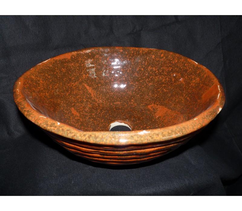 vasque poser ronde reine margot boutique autour du pot. Black Bedroom Furniture Sets. Home Design Ideas